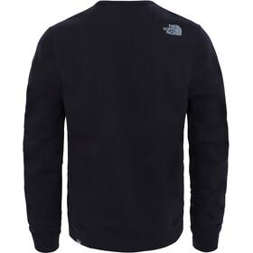 The North Face Drew Peak Crew Camiseta de manga larga Hombre, tnf black